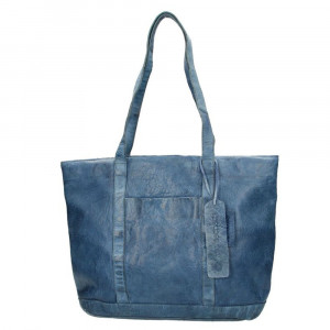 MicMacbags Phoenix Shopper Schoudertas Jeans 16556