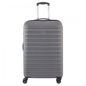 Delsey Segur Trolley Case 4 Wheel 70 Grey