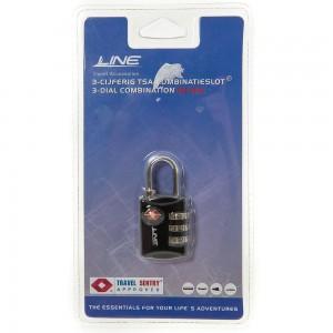 Line Travel Accessories TSA Combinatieslot Black