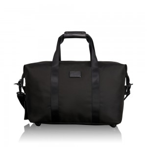 Tumi Alpha 2 Travel Small Soft Satchel Black