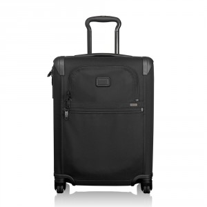 Tumi Alpha 2 Travel International Slim 4-Wheel Carry On 55 Black