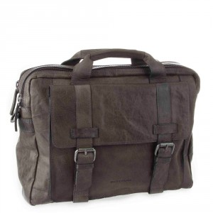 Spikes & Sparrow Bronco Business Bag Charcoal 24245