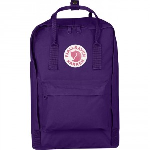 "FjallRaven Kanken Laptop 15"" Rugzak Purple"