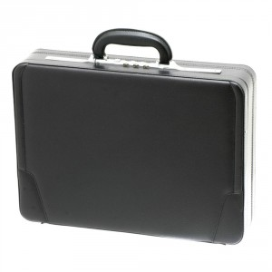 Davidt's Attache Case Synthetisch Expander Black
