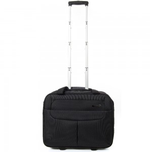 Line New Denton Rolling Tote Trolley 17'' Black