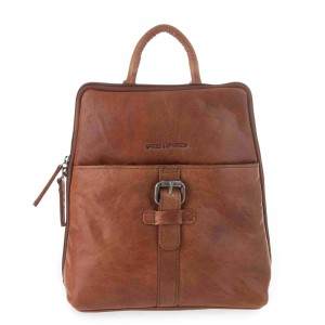 Spikes & Sparrow Bronco Backpack Brandy 292H131