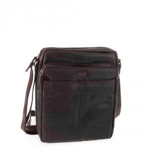 Spikes & Sparrow Bronco Shoulder Bag Dark Brown 294L142
