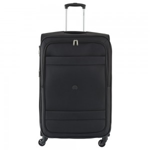 Delsey Indiscrete Trolley 4 Wheel 78 Expandable Black