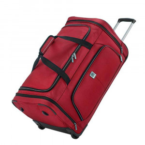 Titan Nonstop Wheeled Duffle Reistas Red