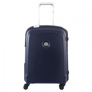 Delsey Belfort Plus Spinner Cabin Trolley Slim 55 Blue