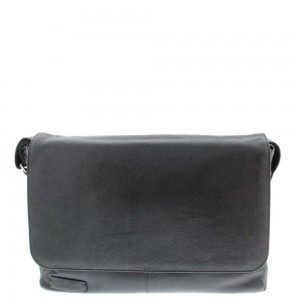 Plevier Business/ Laptop Messenger 1-Vaks 15.6'' Black 474