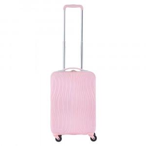 CarryOn Wave Trolley 55 Pastel Pink
