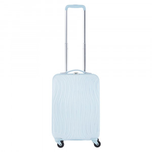 CarryOn Wave Trolley 55 Pastel Blue