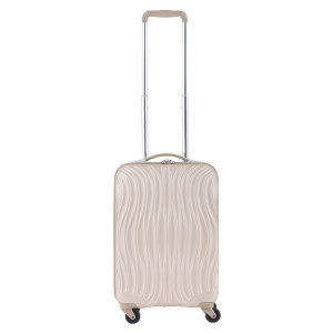 CarryOn Wave Trolley 55 Champagne