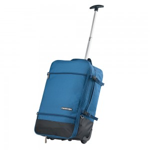 CarryOn Daily Trolley Backpack Expandable Blue