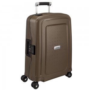 Samsonite S'Cure Deluxe Spinner 55 Metallic Bronze