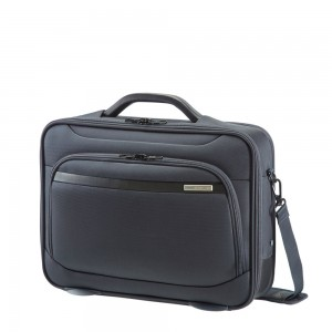 "Samsonite Vectura Office Case Plus 16"" Sea Grey"