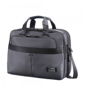 "Samsonite Cityvibe Bailhandle 13-16"" Expandable Ash Grey"