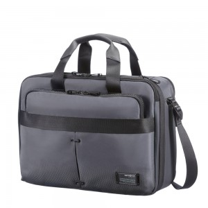"Samsonite Cityvibe 3 Way Business Case 16"" Expandable Ash Grey"