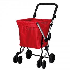 Playmarket We Go Boodschappentrolley Rojo Red