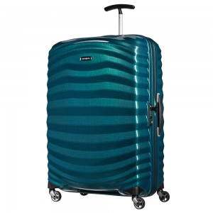 Samsonite Lite-Shock Spinner 75 Petrol Blue