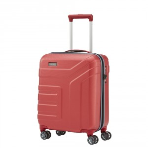 Travelite Vector 4 Wheel Trolley S Coral