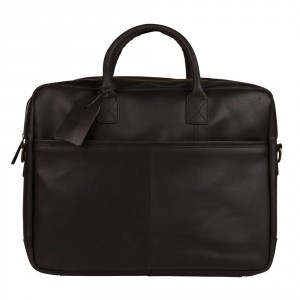 Burkely Vintage Max Worker Schoudertas Black 733922