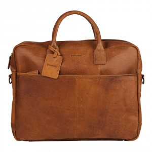 Burkely Vintage Max Worker Schoudertas Cognac 733922