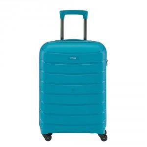 Titan Limit 4 Wheel Cabin Trolley S Aqua Blue
