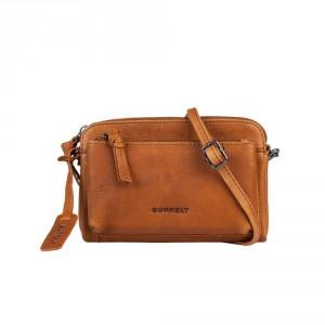 Burkely Antique Avery Mini Bag Schoudertas Cognac 871856