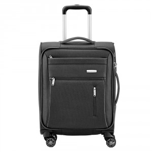 Travelite Capri 4 Wheel Trolley S Black