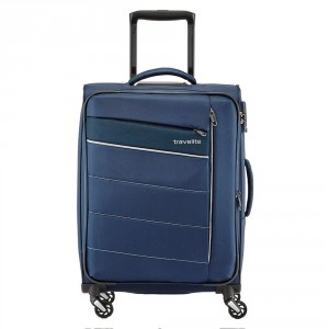 Travelite Kite 4 Wheel Trolley S Navy