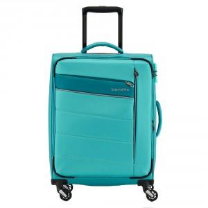 Travelite Kite 4 Wheel Trolley S Turquoise