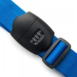 Line Travel Accessories Kofferriem met Cijferslot Blue