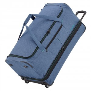 Travelite Basics Trolley Travelbag XXL 80cm Marine
