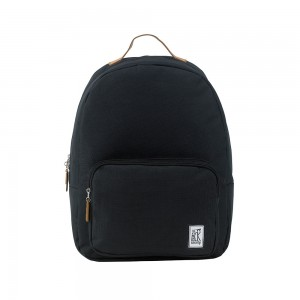 The Pack Society The Classics Rugzak Solid Black