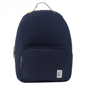 The Pack Society The Classics Rugzak Solid Midnight Blue