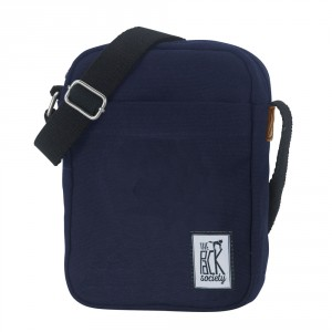 The Pack Society The Small Shoulderbag Solid Midnight Blue