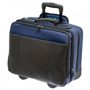 "Davidt's Berkeley Pilot Case 17"" Navy"