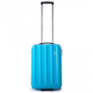 Line Fuse Handbagage 2 Wheel Trolley Aqua Blue
