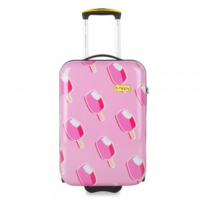 BHPPY Handbagage Koffer 55 Ice On Holiday