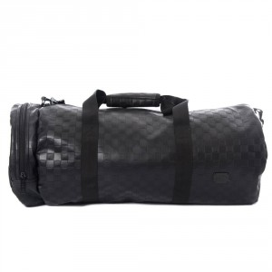 Spiral Duffel Bags Blackout Chequerboard