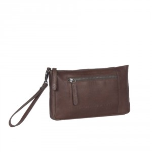 Chesterfield Sonia Clutch Medium Schoudertas Brown