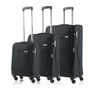 CarryOn Air 3-Delige Kofferset Black