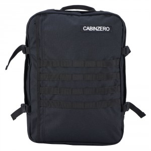 CabinZero Military 44L Light weight Cabin Bag Absolute Black