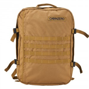 CabinZero Military 44L Light weight Cabin Bag Desert Sand