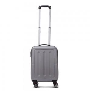 Decent Neon Fix Handbagage Koffer 55 Silver