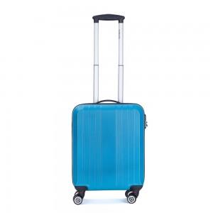 Decent Tobi Handbagage Koffer 55 Turquoise