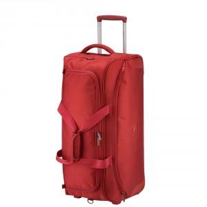 Delsey U-Lite Classic 2 Trolley Duffle Bag 70 Red