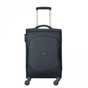 Delsey U-Lite Classic 2 Cabin Trolley Case 4 Wheel 55 Anthracite